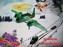 музыкальная открытка к дню победы, песни военных лет, бомбордировщики, 9 мая открытки