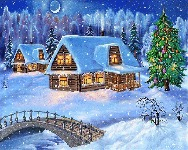 музыкальная новогодняя открытка, новогодняя анимационная открытка, с новым годом