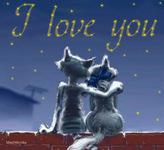 МузОткрытка, музыкальная открытка в день всех влюбленных, анимационная открытка, валентинка