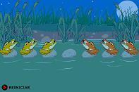flash игра логические лягушки