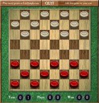 Флеш игра шашки