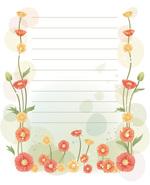 красивая бумага для письма, распечатать, бесплатные шаблоны, грамота