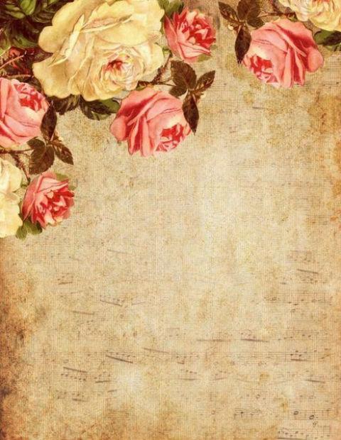 красивая бумага для письма, ретро, распечатать, бесплатные шаблоны