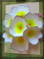 открытка киригами, цветы, сделай сам, видео мастер класс